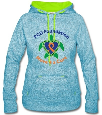 2016 Move 4 A Cure - women's speckled hoodie